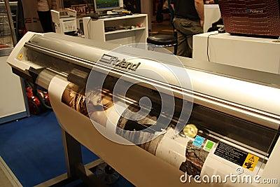 Large Format Digital Printer - Roland