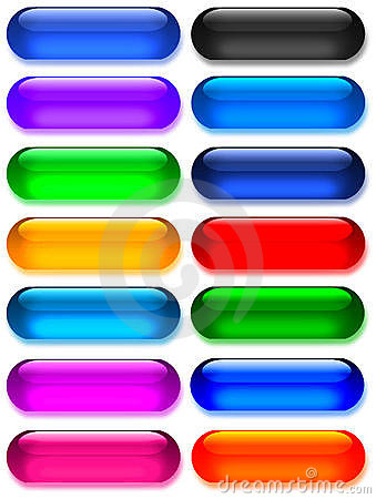 Free Large Gel/glass Buttons Royalty Free Stock Image - 73476