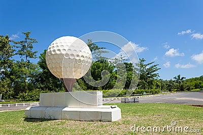 Large golf ball