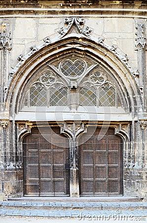 Large Gothic Door