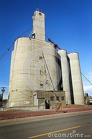 Large Grain Elevator