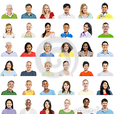 Free Large Group Of Diverse People Stock Images - 37441364