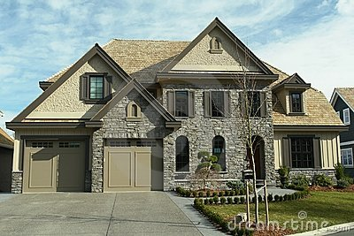 Large Home House Design BC