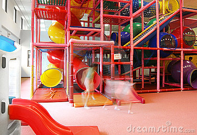 Large indoor play ground