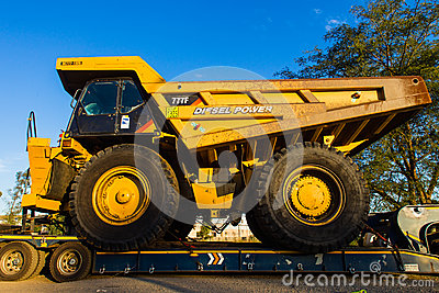 Large Industrial Mining Trucks Editorial Photography