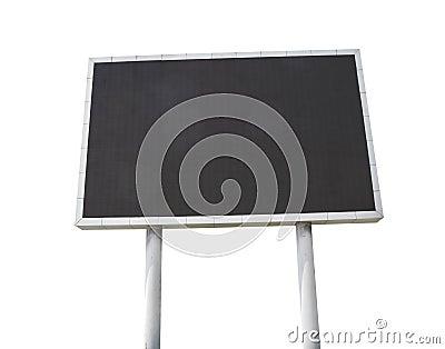 Large LCD screen