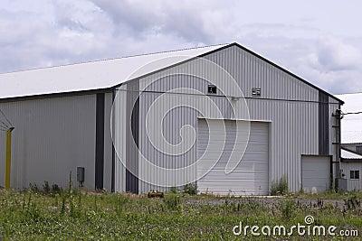 Large Modern Barn Stock Photo Image 44812736