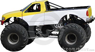 Large monster truck