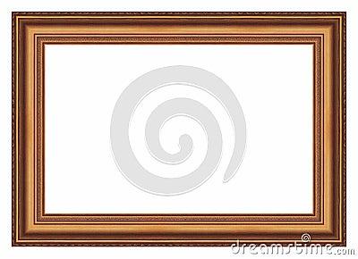 Large Old Gold Frame 005