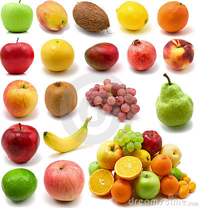 Large page of fruits