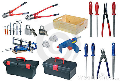 Large page of tools