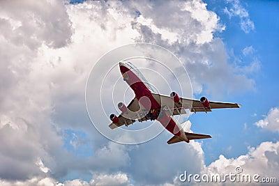 Large passenger aircraft