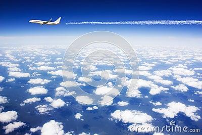 Large passenger plane