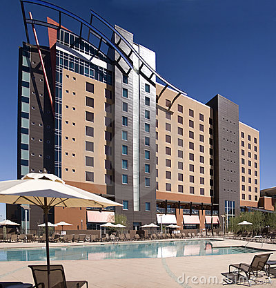 Large resort casino hotel building in Phoenix