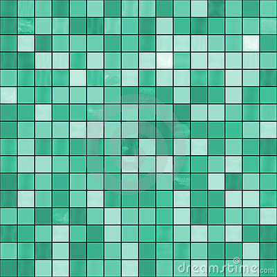 Large Seamless Green Jade Tiles Background Royalty Free