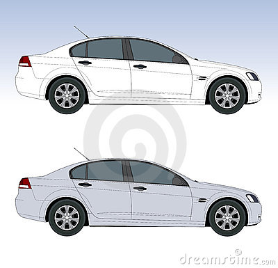 Free Large Sedan Royalty Free Stock Photos - 4521158