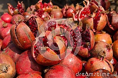 Pomegranates, India