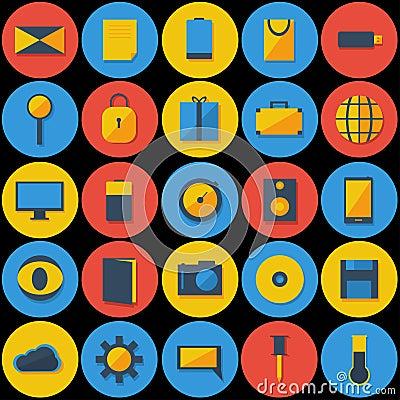 Large Set of Icons