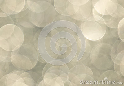 Large Shimmering Champagne Bokeh background