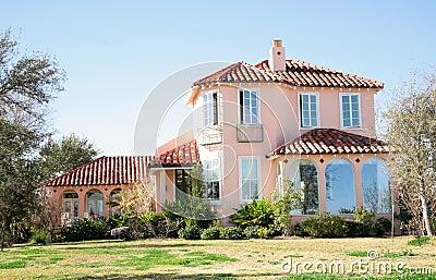 Large Spanish Style Home