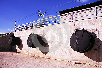 Large steel pipe for Drainage system