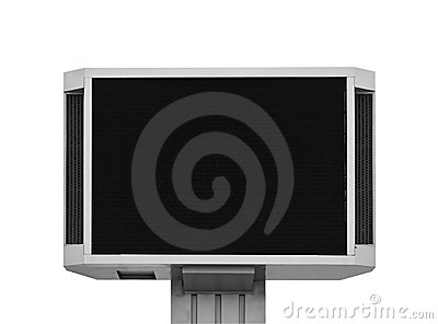 Large television set for translations