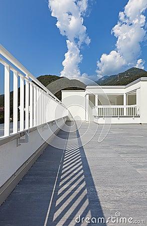 Large terrace