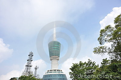 Large tv tower