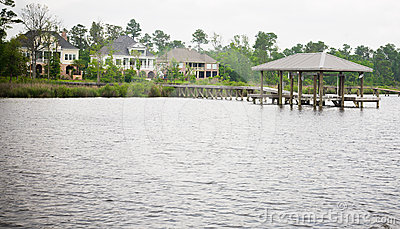 Large Waterfront Homes