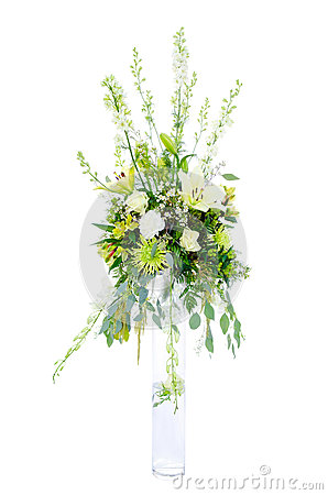Large wedding flower arrangement