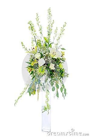 Large wedding flower arrangement