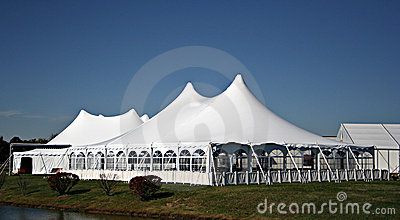 Large White Wedding Tent