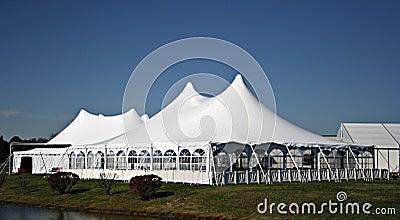 Large White Wedding Tent