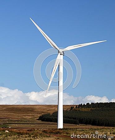 Large wind generator