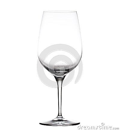 Large wine goblet chilled
