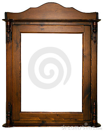 Large wooden frame