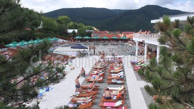 Largest saltwater pool in Romania