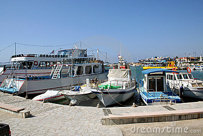 Larnaca Harbor Cyprus
