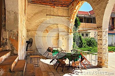 Larnaca old backyard.