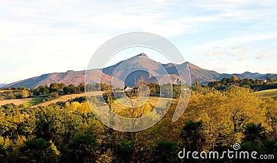 Larrun mountain, Pyrenees.