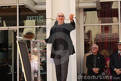 Larry David Editorial Image