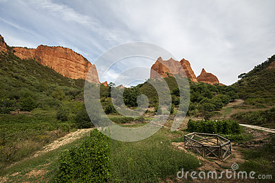 Las Medulas Landscape