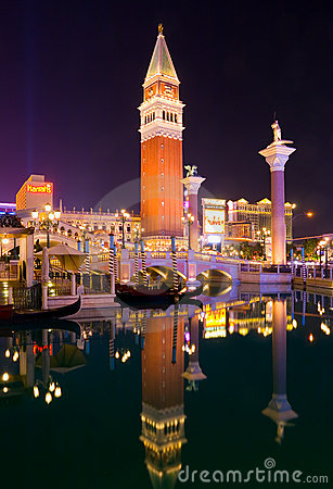 Free Las Vegas At Night Stock Photography - 4582602