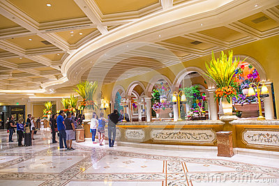 Las Vegas , Bellagio Editorial Stock Image