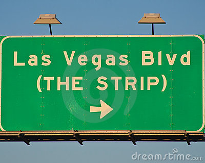 Las Vegas Blvd Sign