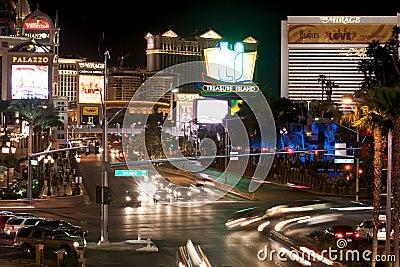Las Vegas Boulevard Editorial Image