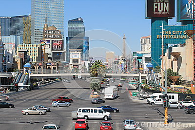 Las Vegas Boulevard Editorial Photography