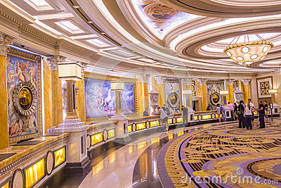Las Vegas , Caesars Editorial Photo