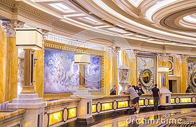 Las Vegas , Caesars Editorial Photo
