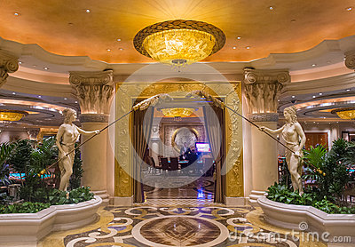 Las Vegas , Ceasars Palace Editorial Stock Photo